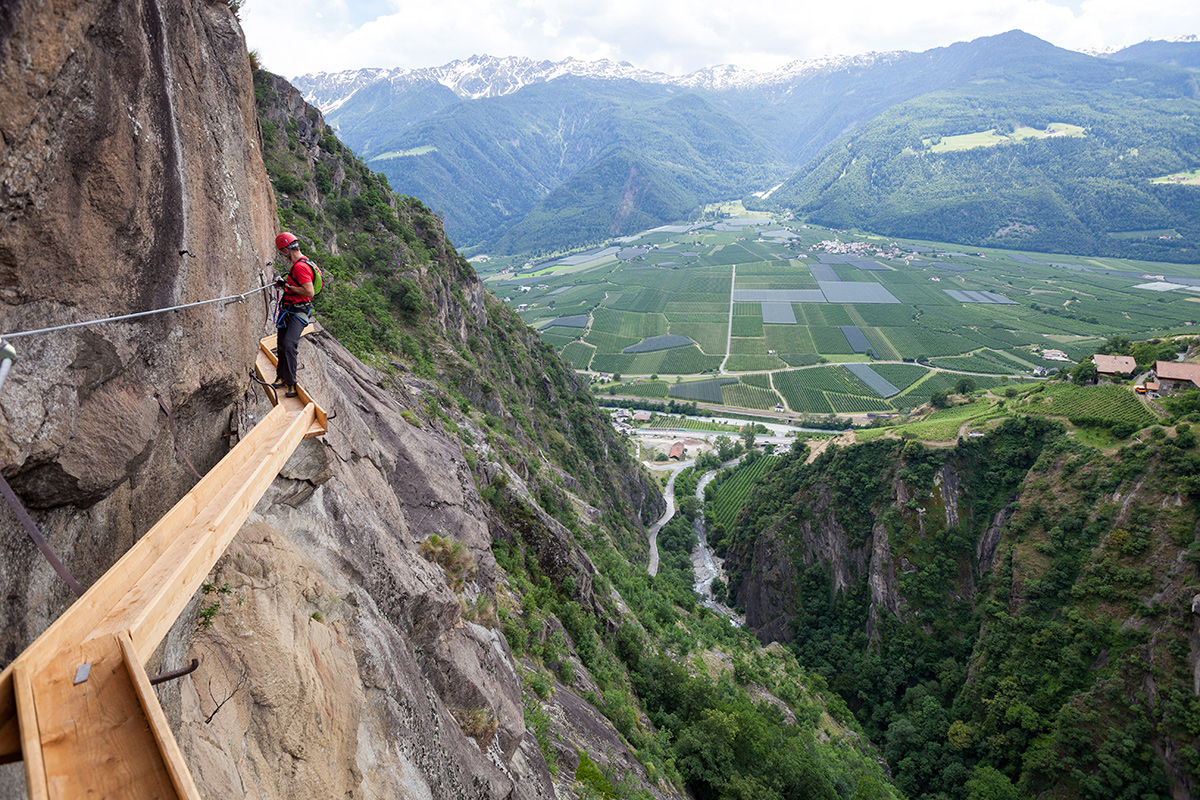 Klettersteig Hoachwool : Aktiv im sommer am innerunterstellhof naturnser sonnenberg in südtirol