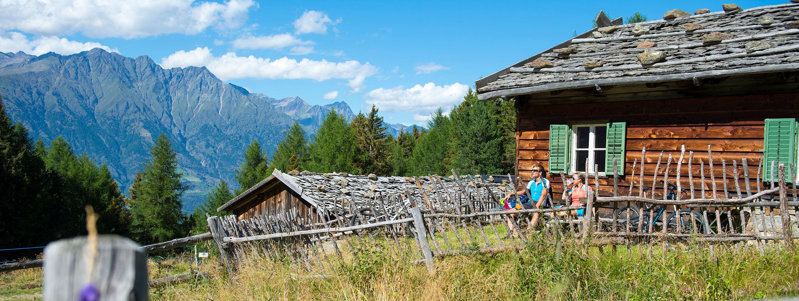 Estate nel maso Innerunterstellhof a Naturno in Alto Adige